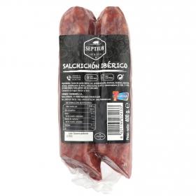 Salchichón ibérico velita Septium 400 g