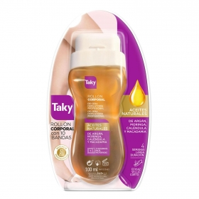 Cera depilatoria roll-on oro Taky 100 ml.