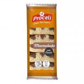 Marmolado con cacao Proceli sin gluten sin lactosa 180 g.
