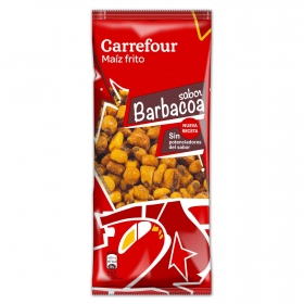 Maíz frito sabor barbacoa Carrefour 140 g.