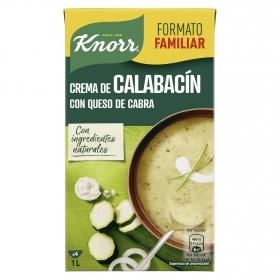 Crema de calabacín con queso de cabra Knorr 1 l.