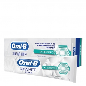 Dentífrico intensivo 3D White Luxe Oral-B 75 ml.