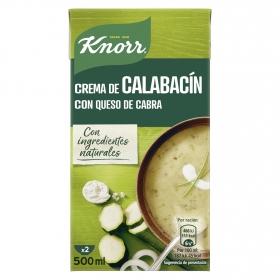 Crema de calabacín con queso de cabra Knorr 500 ml.