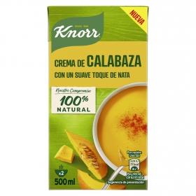Crema de calabaza con un suave toque de nata Knorr 500 ml.