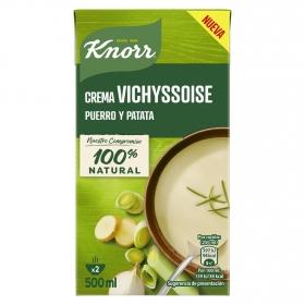 Crema de vichyssoise, puerro y patata Knorr 500 ml.