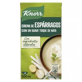Crema de espárragos con un suave toque de nata Knorr 500 ml.