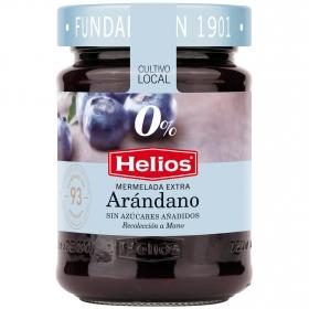 Mermelada de arándano categoría extra Diet Helios sin gluten 280 g.