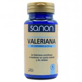 Valeriana comprimidas Sanon 200 ud.