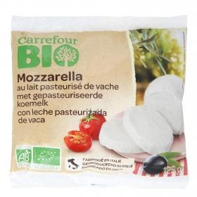 Queso mozzarella ecológico Carrefour 125 g.