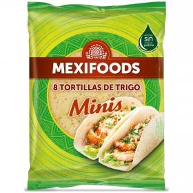 Tortillas de trigo minis Mexifoods 10 ud.
