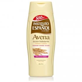 Loción hidratante manos & cuerpo Avena Instituto Español 500 ml.