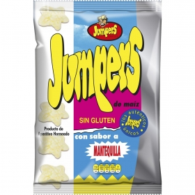 Aperitivo sabor mantequilla Jumpers 100 g.