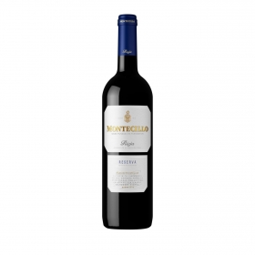 Vino D.O. Rioja tinto reserva Montecillo 75 cl.