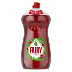Lavavajillas a mano ultra aroma frutos rojos Fairy 1,5 l.