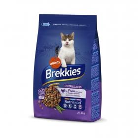Brekkies Pienso para Gato  esterilizados 3 kg