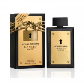 Agua de colonia The Golden Secret Antonio Banderas 200 ml.