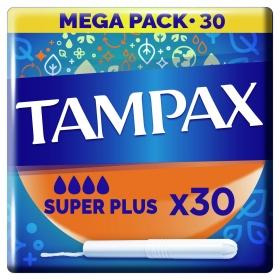Tampones superplus Tampax 30 ud.