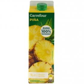 Zumo de piña y mango Carrefour exprimido brik 1 l.