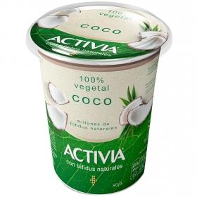 Preparado de soja bífidus con coco Danone Activia 400 g.