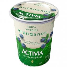 Preparado de soja bífidus con arándanos Danone Activia 400 g.