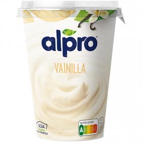 Preparado de soja sabor vainilla Alpro sin lactosa 500 g.