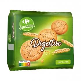 Galletas con harina integral Digestive Carrefour 800 g.