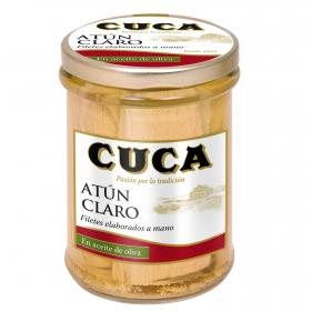 Atún claro en aceite de oliva Cuca 117 g.