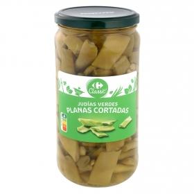 Judías verdes al natural Carrefour 360 g.