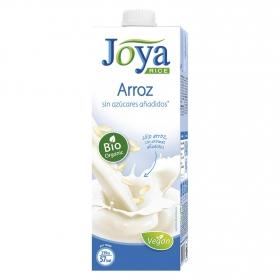 Bebida de arroz sin azúcares añadidos ecológica Joya brik 1 l.