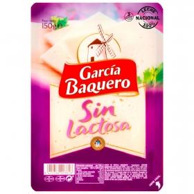 Queso lonchas García Baquero sin lactosa 150 g.