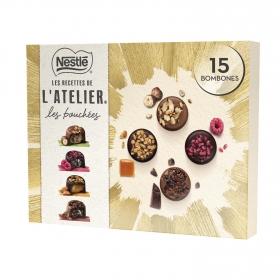 Bombones surtidos Les Recettes de L'atelier Nestlé 186 g.