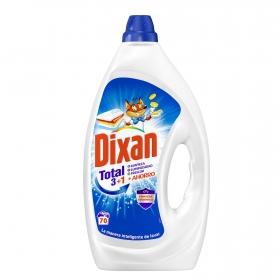 Detergente líquido Dixan Total 70 lavados.