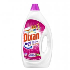 Detergente líquido adiós al separar Dixan Total 70 lavados.