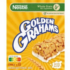 Barritas de cereales y leche Golden Grahams Nestlé150 g.