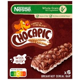 Barritas de cereales y leche Chocapic Nestlé 150 g.