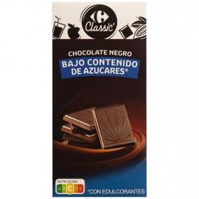 Chocolate sin azúcar añadido Carrefour 100 g.