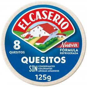 Queso en porciones El Caserío 125 g.