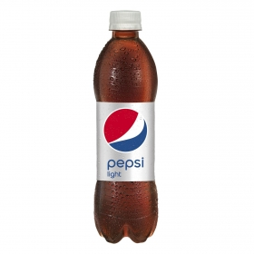 Refresco de cola Pepsi light botella 50 cl.