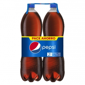 Refresco de cola Pepsi pack de 2 botellas de 2 l.