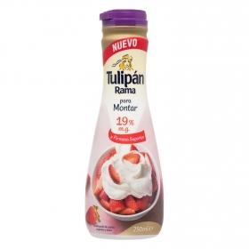 Nata para montar Tulipán 250 ml.