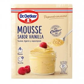 Preparado para mousse sabor vainilla Dr. Oetker 65 g.