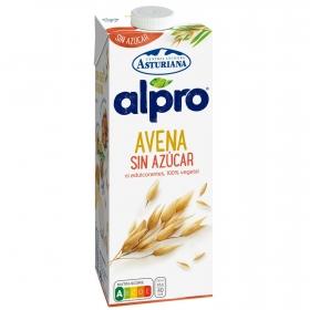 Bebida de avena baja en azúcares Alpro - Central Bebidara Asturiana brik 1 l.