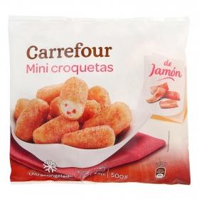 Mini croquetas de jamón Carrefour 500 g.