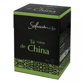 Té verde de chía Carrefour Selección 20 ud.