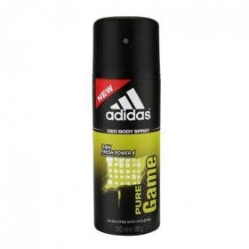 Desodorante en spray para hombre pure game Adidas 150 ml.