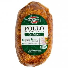 Redondo de pollo relleno asado La Carloteña 500 g.