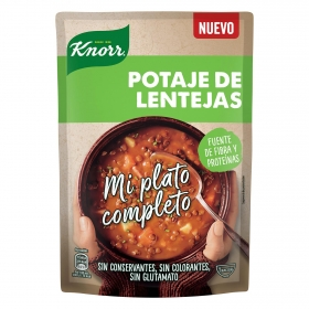 Crema de potaje de lentejas Knorr 375 ml.
