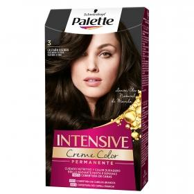Tinte intense color cream 3 castaño oscuro Palette 1 ud.