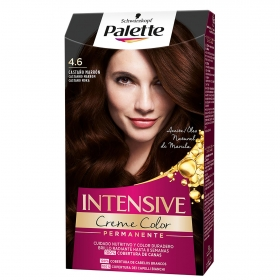 Tinte intense Color Cream 4.6 Castaño Marrón Palette 1 ud.