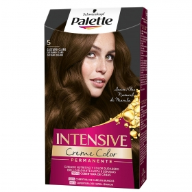 Tinte intense Color Cream 5 Castaño Claro Palette 1 ud.